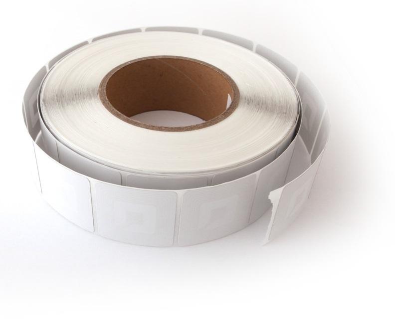Etiqueta Adhesiva Con Circuito Antihurto Cuadrada