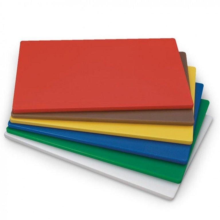 tablas de corte de distintos colores para cocinas de