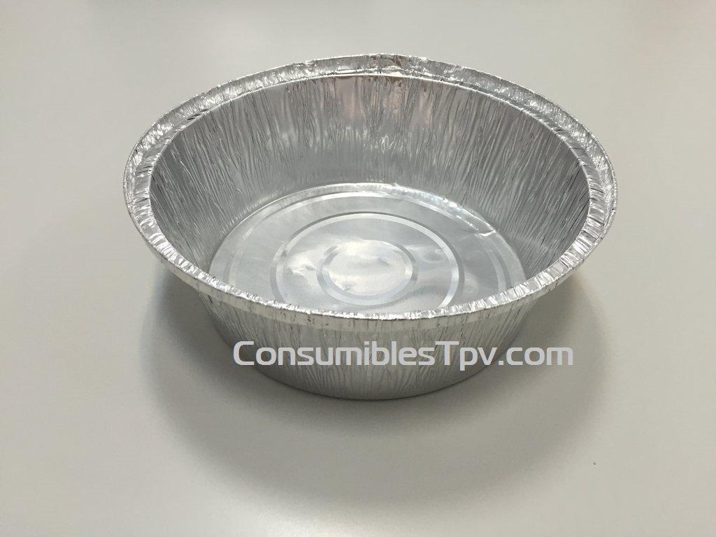 Envase alumino para alimentos redondo para pollos asados 1900 - Envases para llevar ...