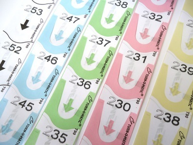 Rollo de tickets Turnomatic personalizados