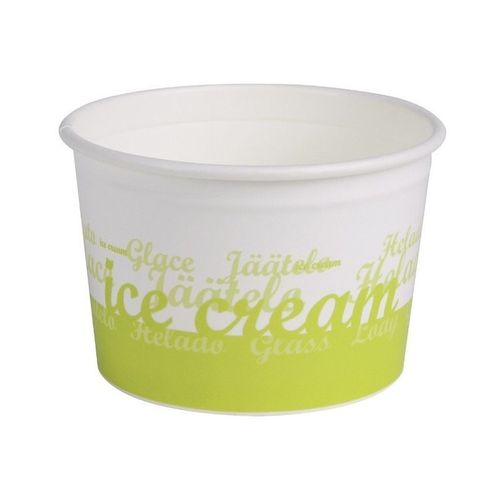 Tarrina papel helado de 170 ml.