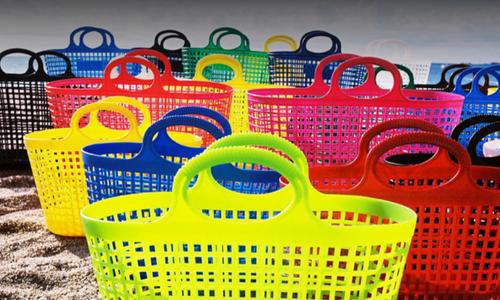 Lobo con piel de cordero Transparente Así llamado  Carritos Trolley, cestas y canastas para la compra en comercios